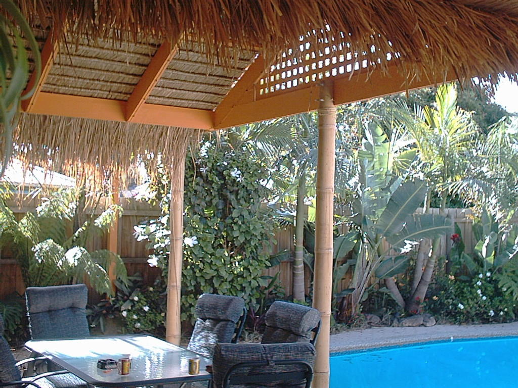 Coconut Poles Coconut Gazebo Legs The Thatched Roofing